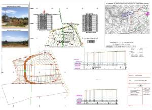 Τοπογραφικό Διάγραμμα για Έγκριση Δόμησης και μελέτη εφαρμογής διαμόρφωσης περιβάλλοντος χώρου