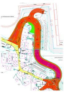 Τοπογραφικό Διάγραμμα περιοχής γέφυρας Ευδήλου
